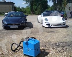 Maseratti i Porsche