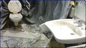 Sprzatanie Warszawa - łazienka brudna