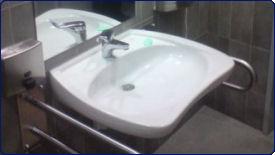 Sprzatanie Warszawa - umywalka czysta